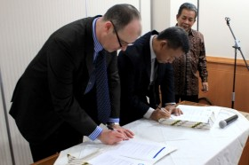 Indonesian MOU signing