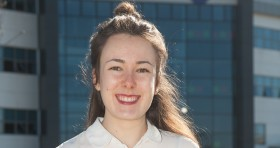 Irene Pérez Soto, Universidad Europea de Madrid, currently on a placement in the College's Marketing and International department.